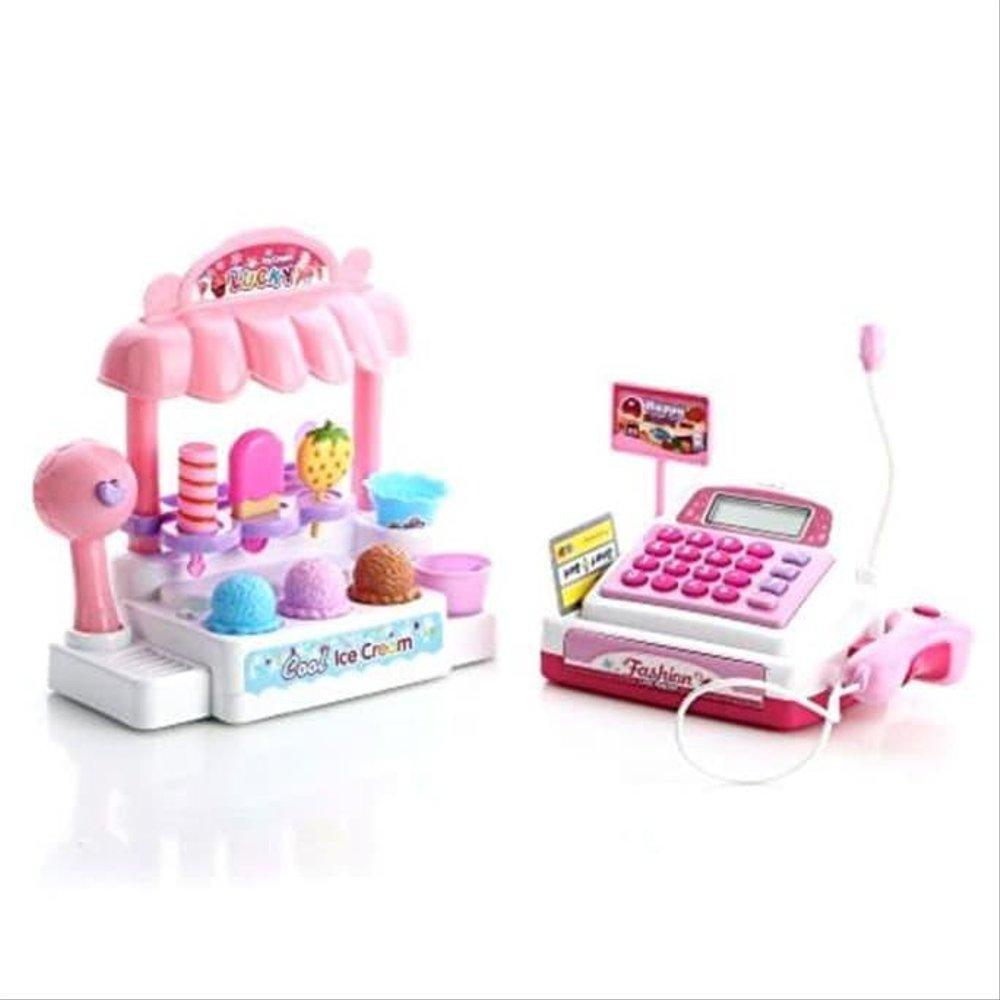 Brinquedo Caixa Registradora Sorveteria Fenix