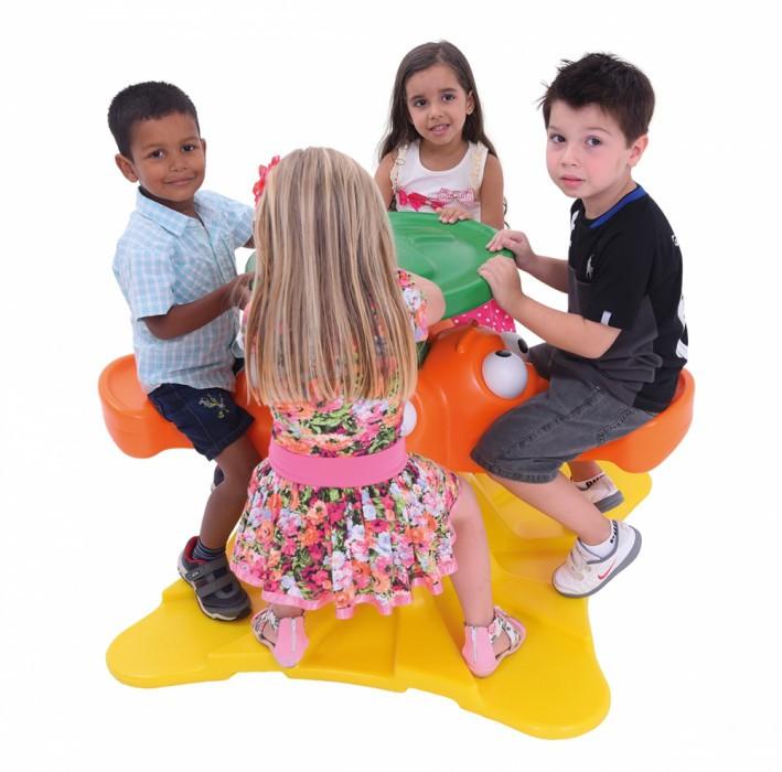 Brinquedo Gira Pato com Olhos Móveis Colorido 09854 - Xalingo