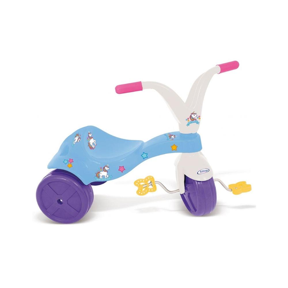 Brinquedo Infantil Triciclo Unicornio Xalingo