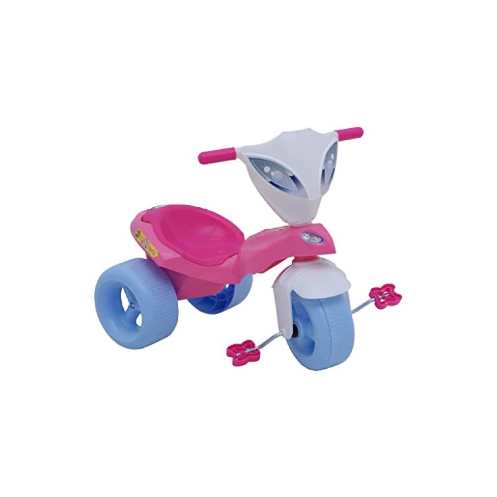 Brinquedo Infantill Triciclo Pepita com Empurrador Xalingo
