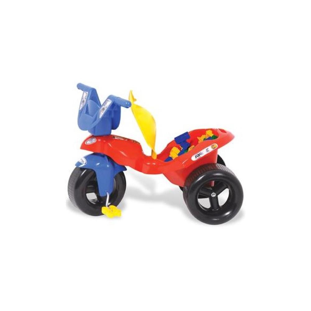 Brinquedo Infantill Triciclo Race com Empurrador Xalingo