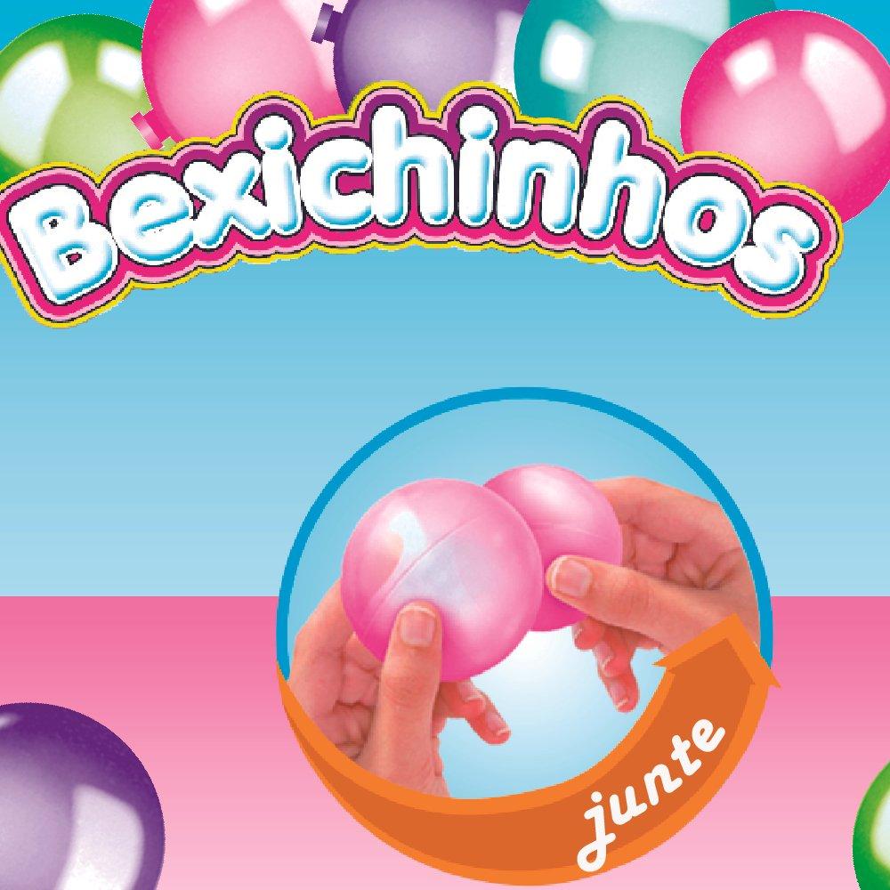 Brinquedo Kit Maquina de Bexiga Bexichinhos - Fenix