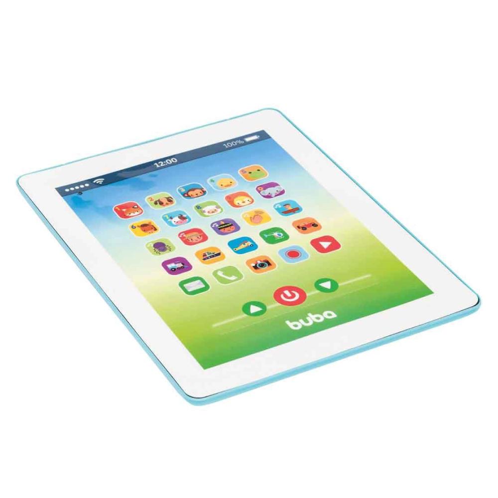 Brinquedo Musical Tablet Azul 8548 Buba