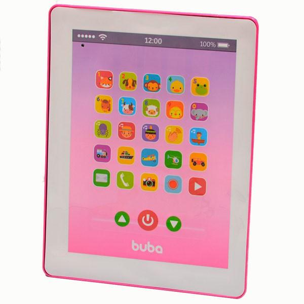 Brinquedo Musical Tablet Rosa - 8549 Buba