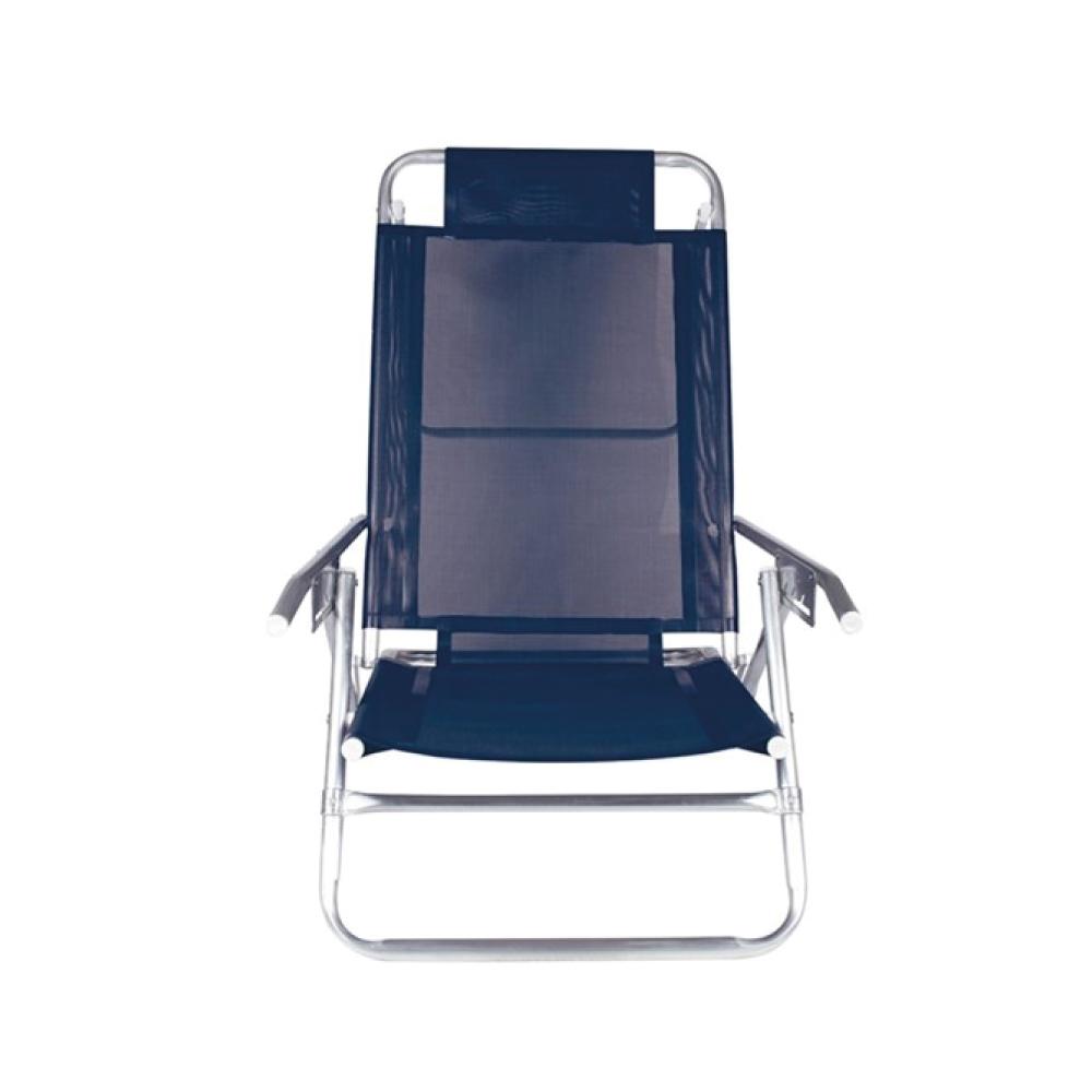 Cadeira Reclinável 5 Posições Alumínio Dobrável Mor
