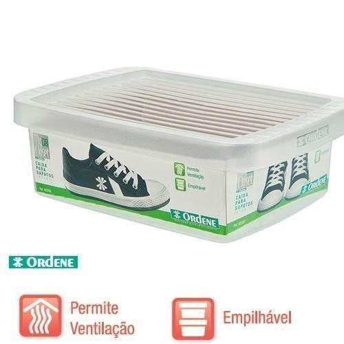 Caixa De Sapato Transparente Para Organizar Ordene Infantil