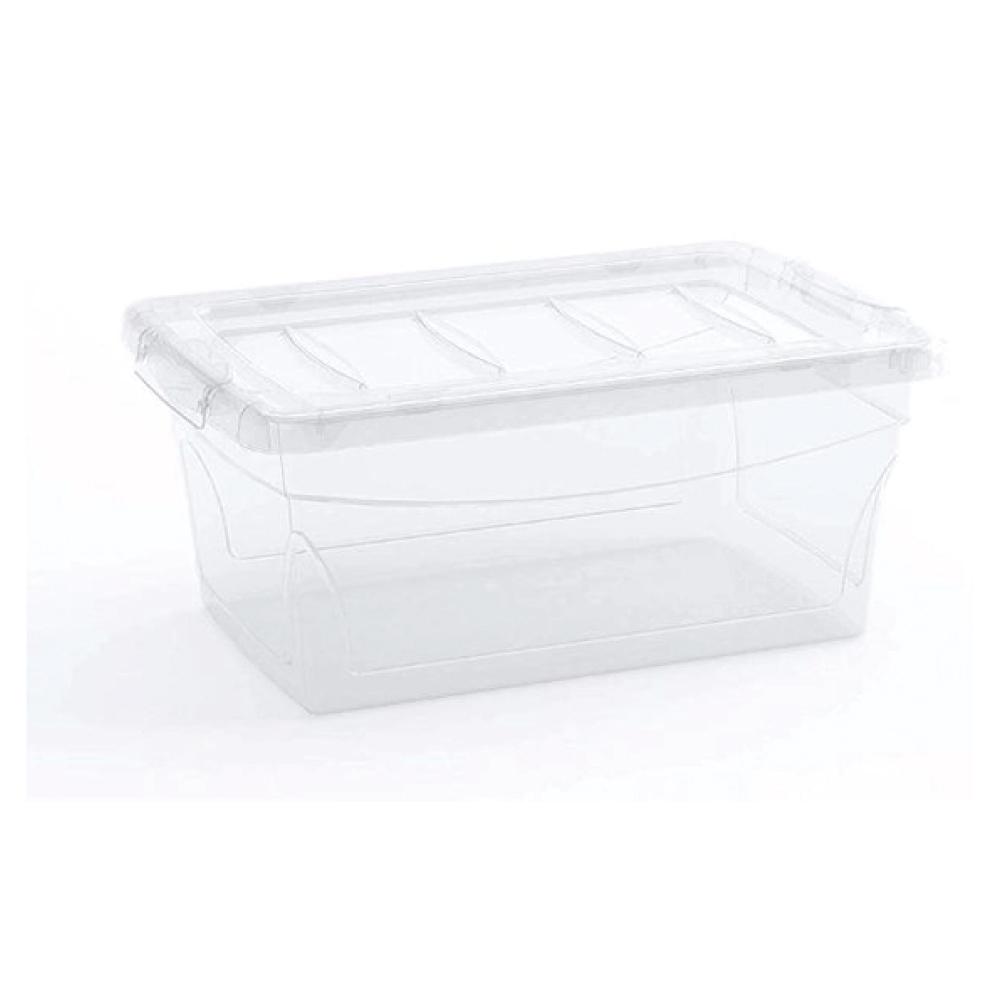 Caixa organizadora 11 Litros Omni Box Curver Transparente keter