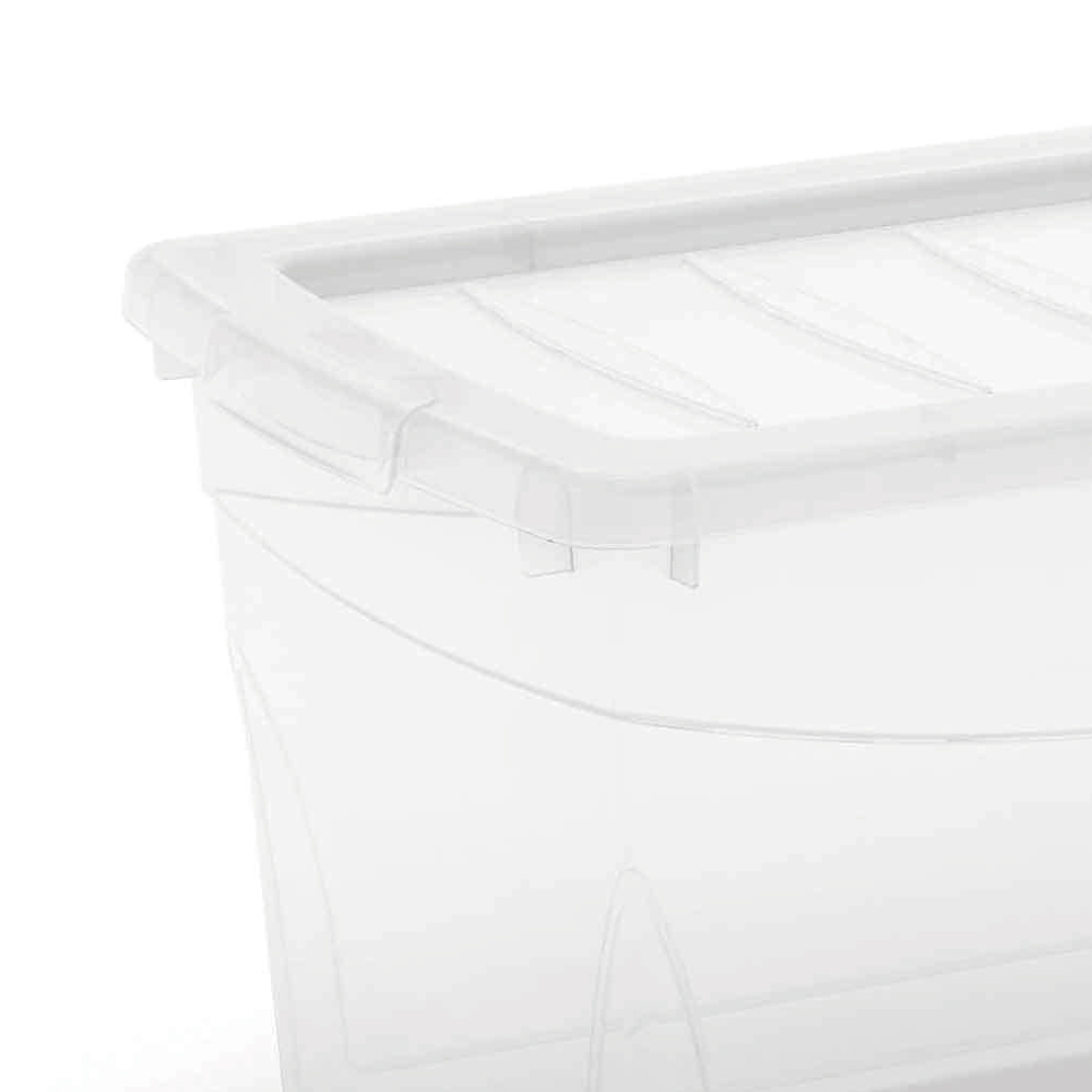 Caixa organizadora 29 Litros Omni Box Curver Transparente keter