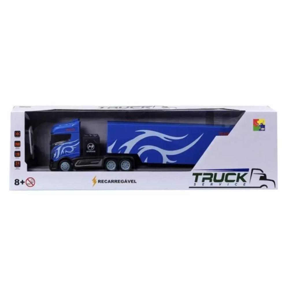 Caminhão de Controle Remoto Recarregavel Truck Service