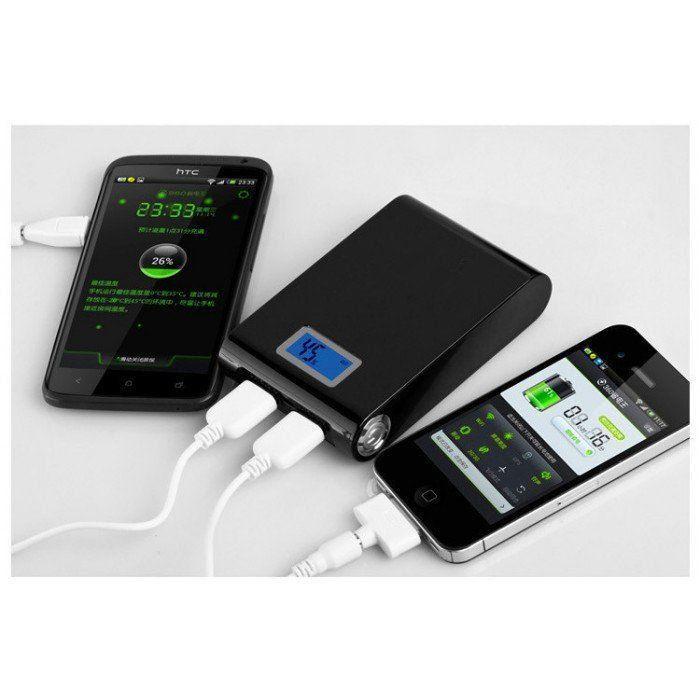 Carregador Portatil Celular Tablet 8000 mAh - Power Bank