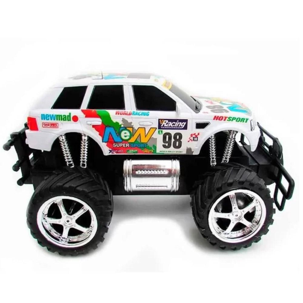 Carrinho de Controle Remoto Recarregavel Caminhonete Rally