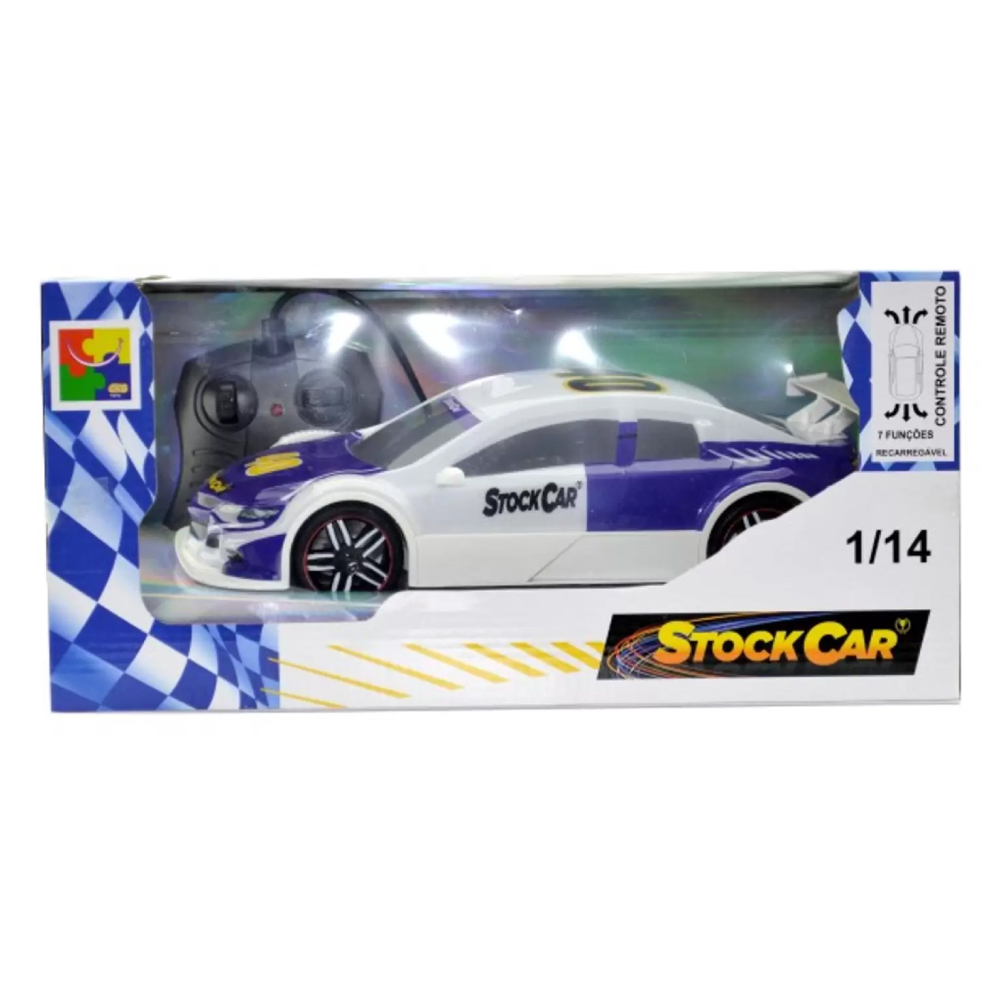 Carro de Controle Remoto Recarregavel Stock Car