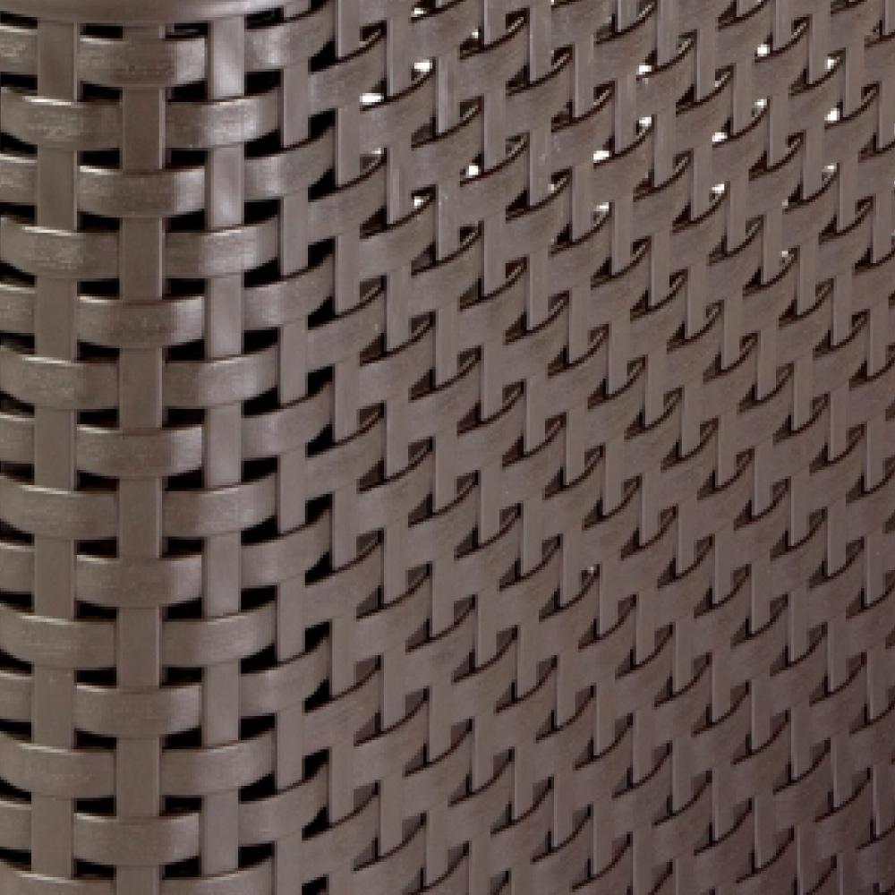Cesto Organizador 30 Litros Style Curver Marrom Keter