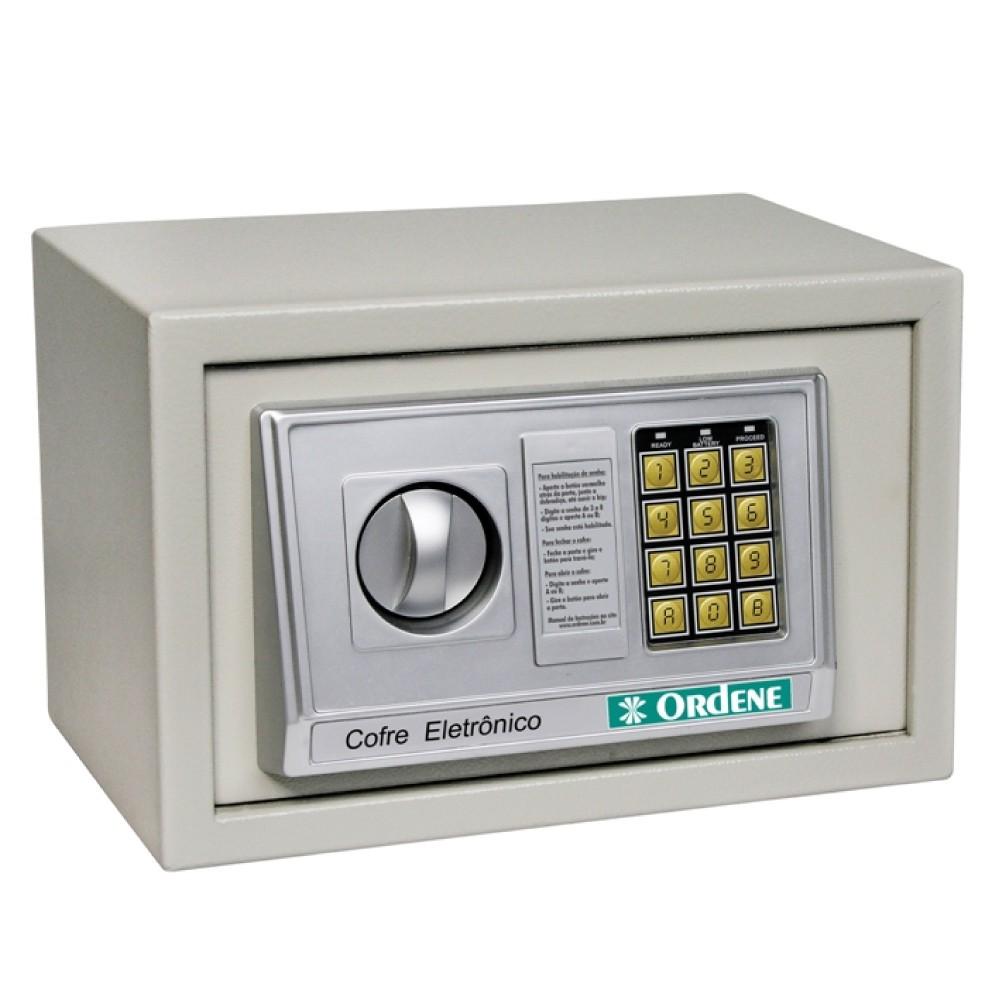 Cofre Eletrônico Digital em Aço Ordene