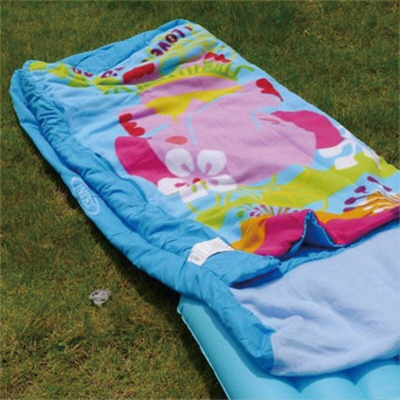 Colchão Infantil Saco de Dormir Hula Elly Intex