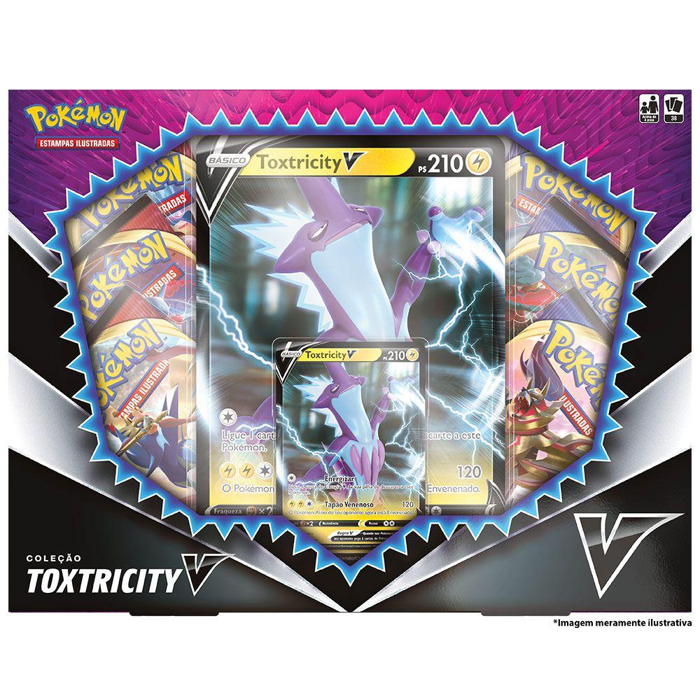 Coleção Pokemon Box Toxtricity V 38 Cartas