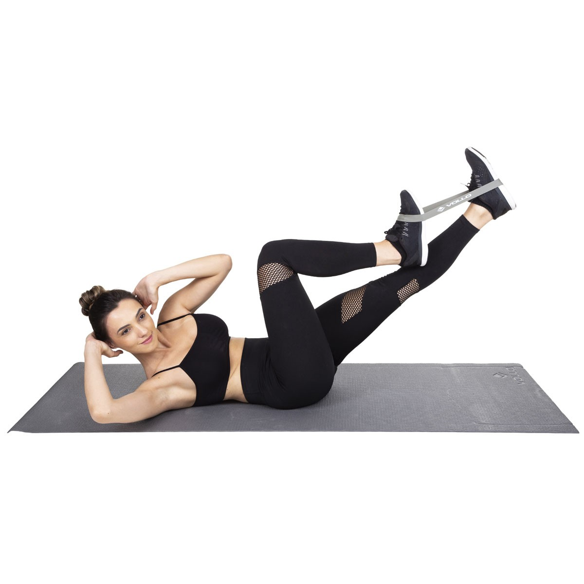 Conjunto 4 Mini Faixas de Exercicio Vollo