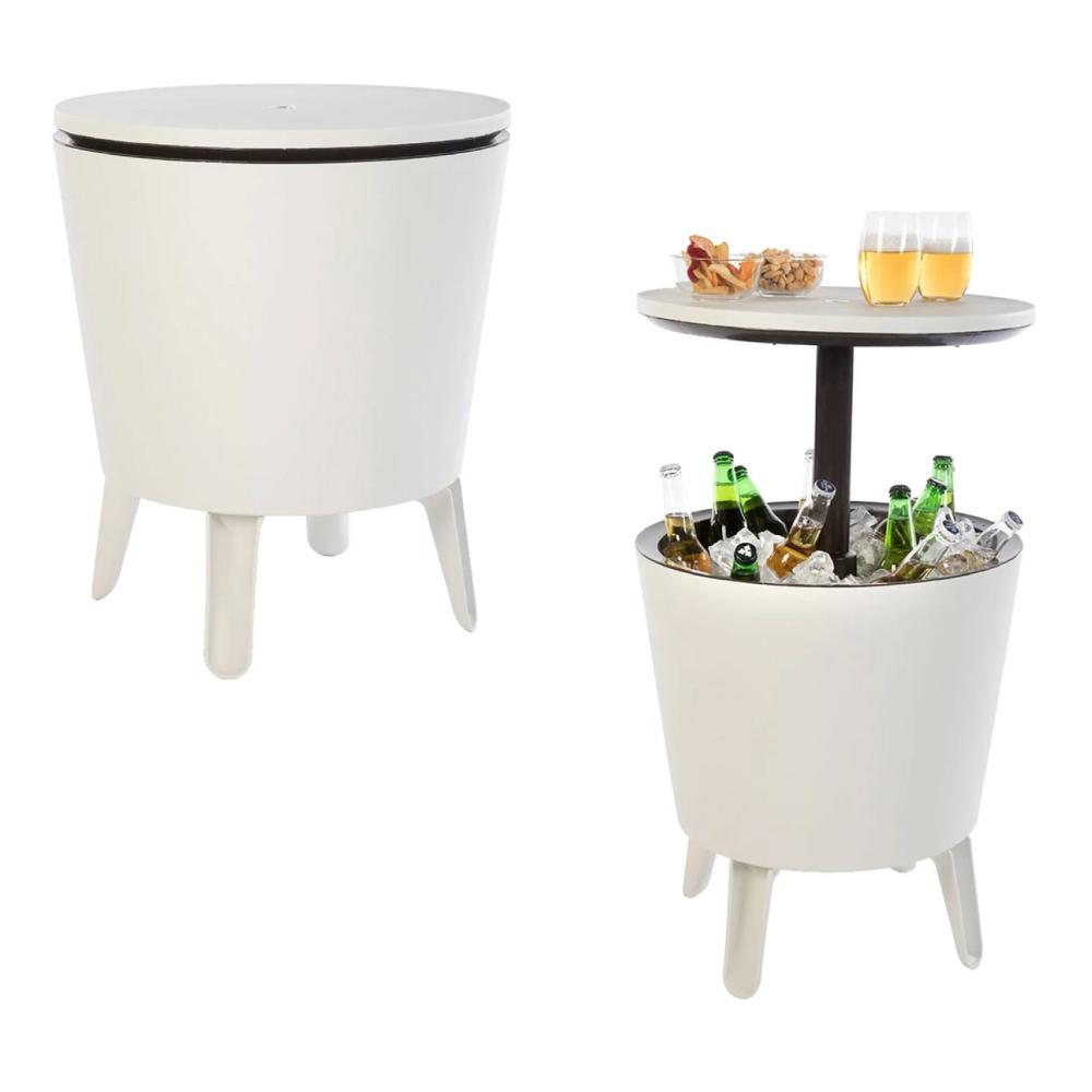 Cooler 2x1 Cool Bar Branco 42 Latas Keter