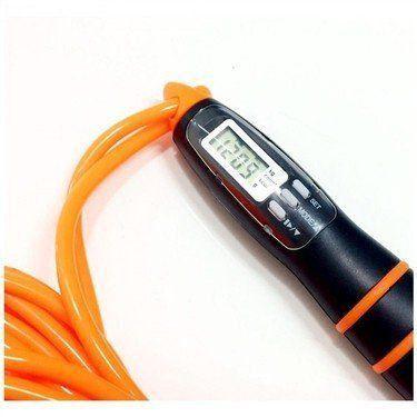 Corda De Pular Contador Digital E Gasto Calorico Lcd Liveup