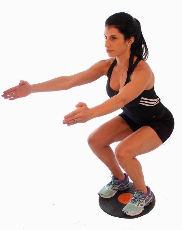 Disco Prancha De Equilíbrio Balanced Board Pilates - Liveup