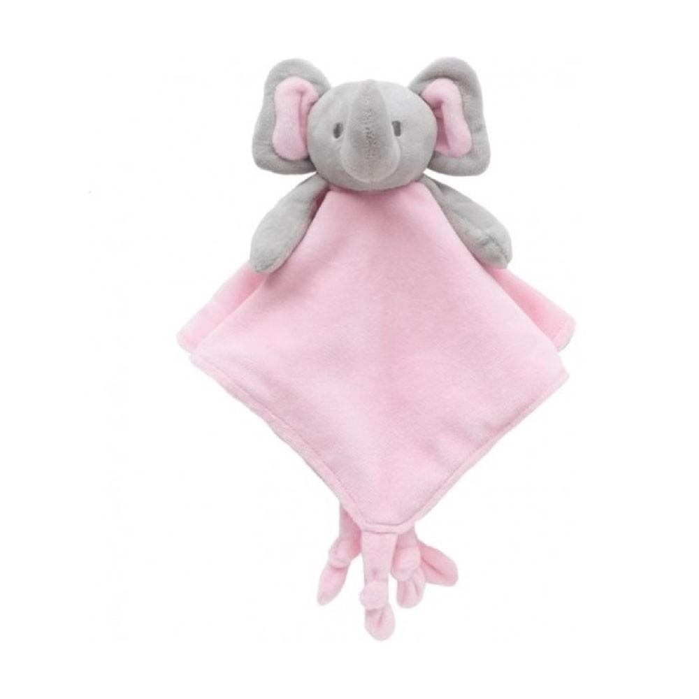 Elefantinho Pelucia Naninha Rosa Buba