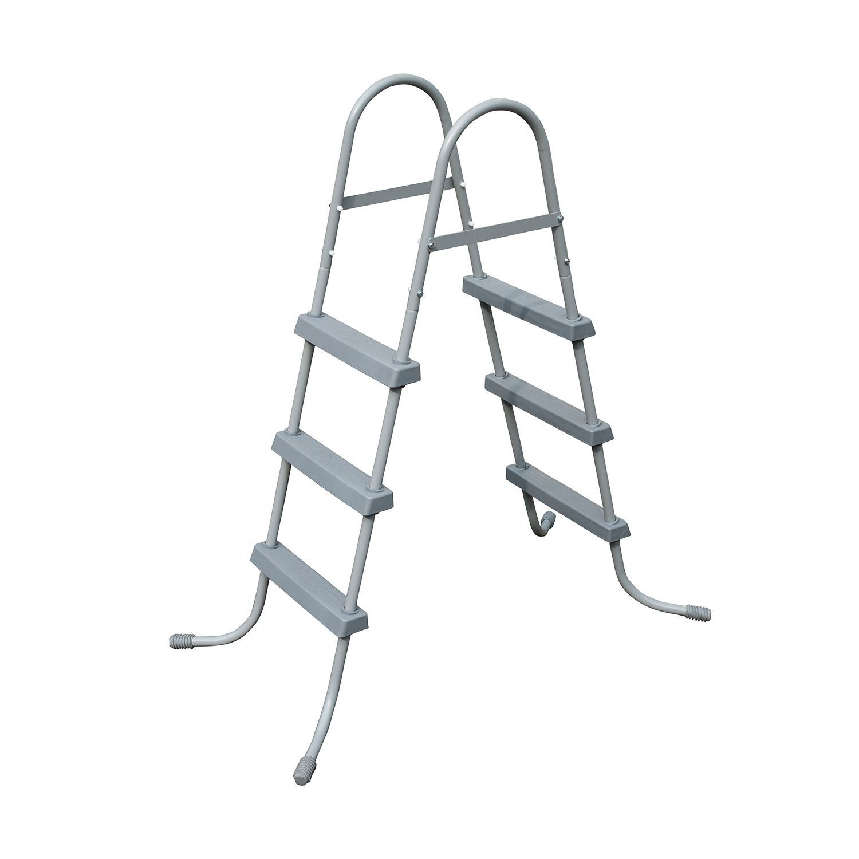 Escada Dupla Piscina Inflável Estrutural 91 Cm Bestway