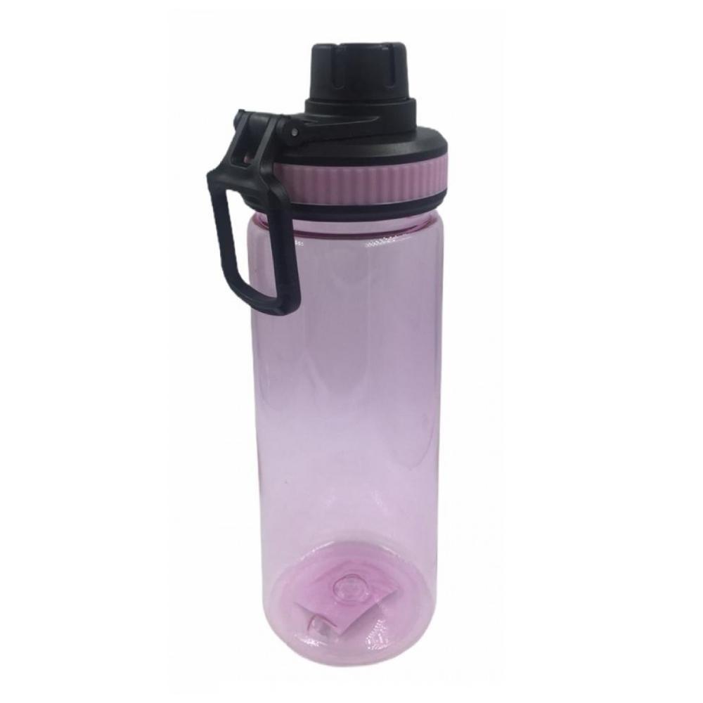 Garrafa Squeeze de Plástico com Tampa 600 ML