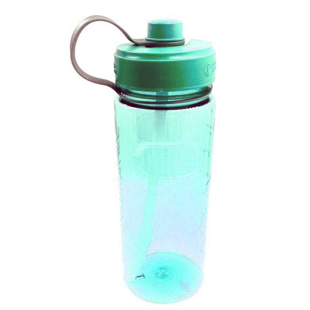 Garrafa Squeeze de Plástico com Tampa e Canudo 1 Litro