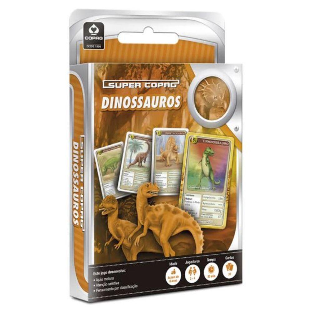 Jogo de Cartas Supercopag Dinossauros