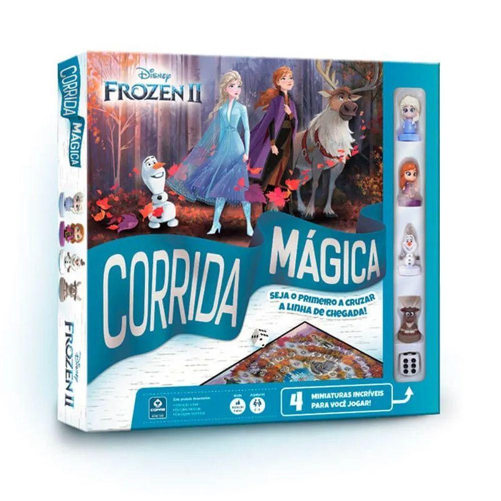 Jogo de Tabuleiro Corrida Magica Frozen 2- Copag