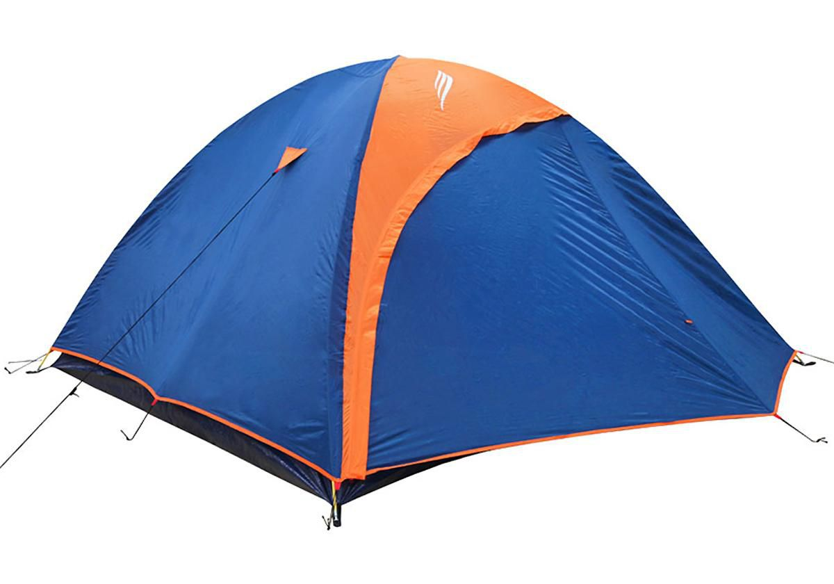 kit Camping Barraca Falcon 4 Pessoas Iglu Nautika + Colchão Casal + Bomba de Ar Bestway