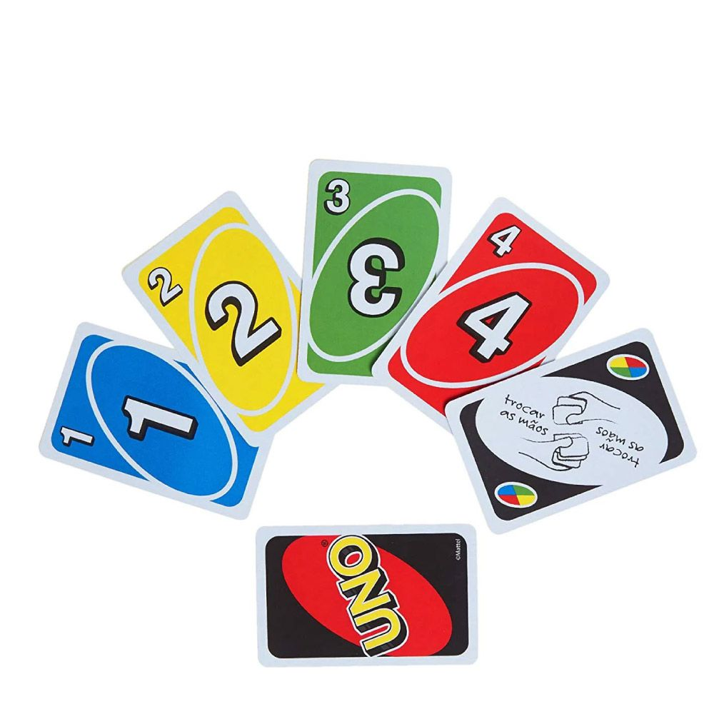 Kit de Jogos de Cartas Uno Original + Jogo de Cartas Mico Copag