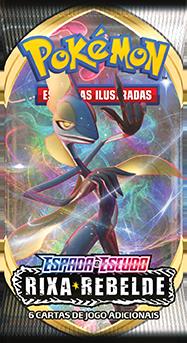 Kit Pacote Cartas Pokémon EE2 Booster 10 Pacotes 60 Cartas - Rixa Rebelde