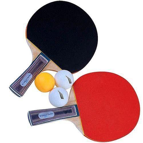 Kit Ping Pong Tipo Raquetes c/ Bolas B - Nautika