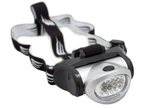 Lanterna de Cabeça Turbo 8 LEDS - Nautika