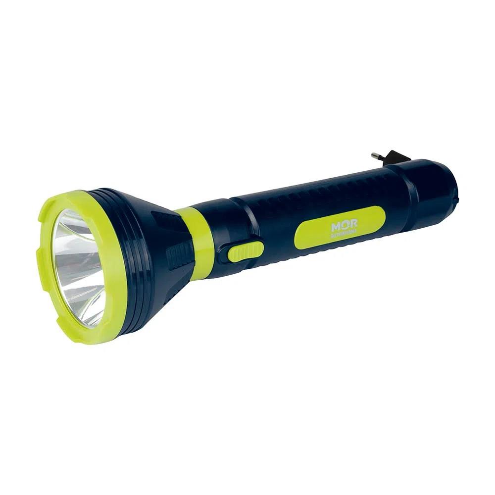 Lanterna Power Led 250 Lúmens Recarregável Mor