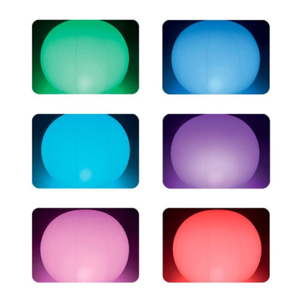Luz de Led Flutuante Globo Decorativa Intex