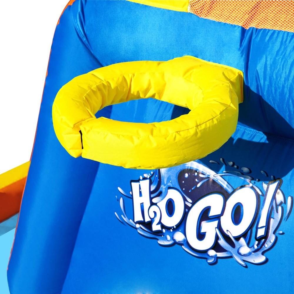 Mega Parque Aquático Inflável Raceway H2OGO c/ Acessórios Bestway