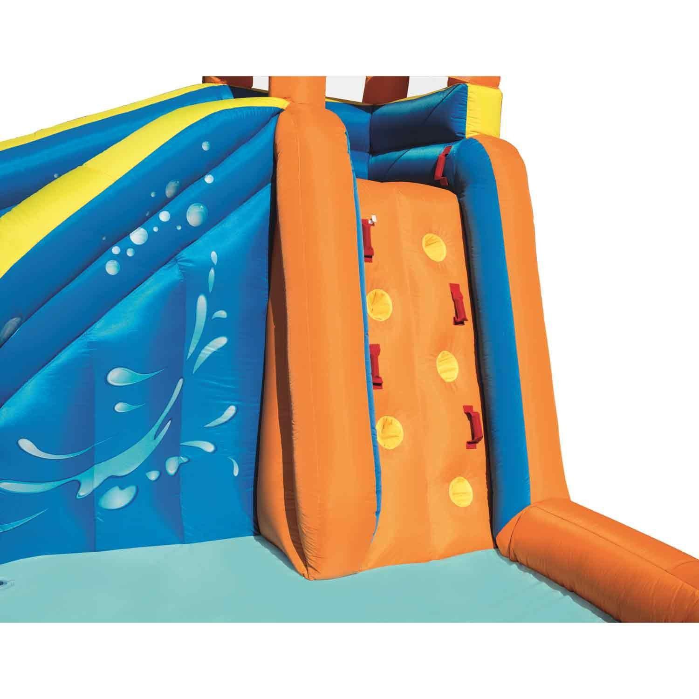Mega Parque Aquático Inflável Turbo H2OGO c/ Acessórios Bestway