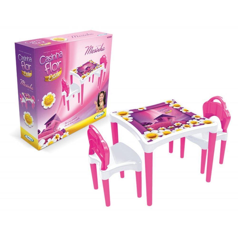 Mesinha Infantil Casinha Flor - Xalingo 04954