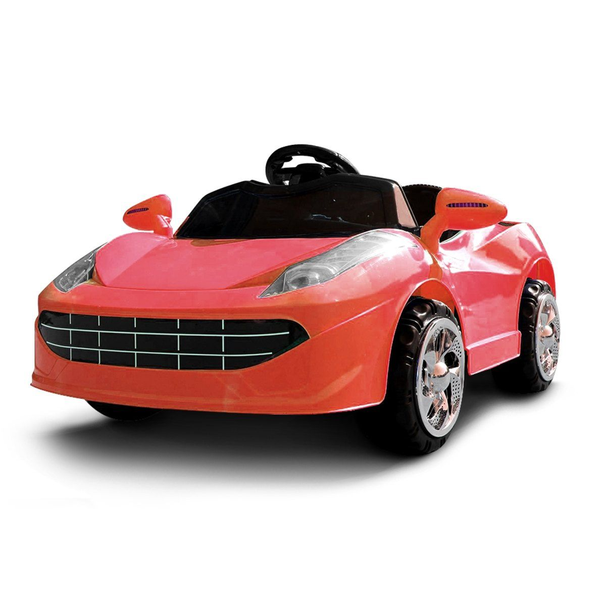 Mini Carro Elétrico Infantil Bateria Recarregável Importado Vermelho