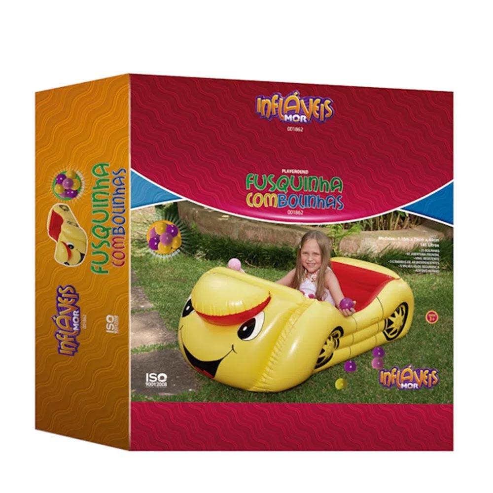 Mini Playground Fusquinha com 25 Bolinhas Mor