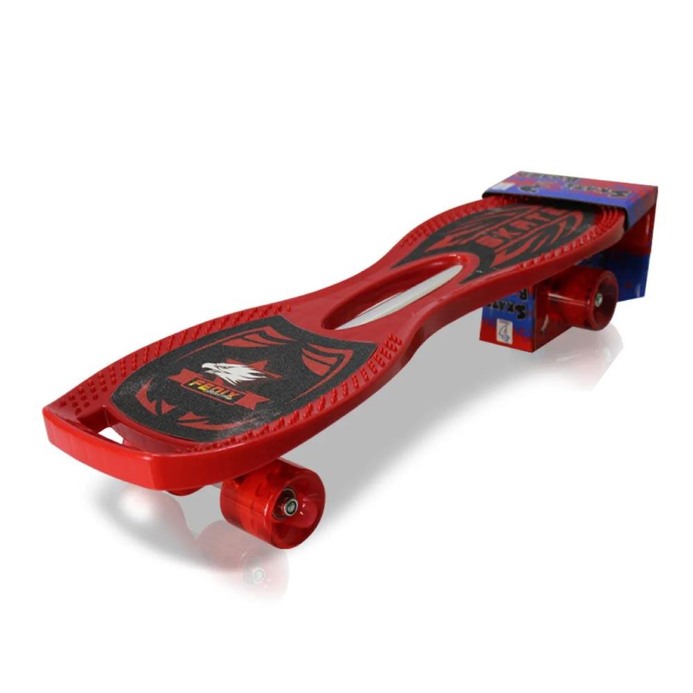 Mini Skateboard Infantil Shape Vazado Fenix