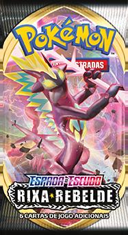 Cartas Pokémon EE2 Booster 1 Pacote com 6 Cartas - Rixa Rebelde