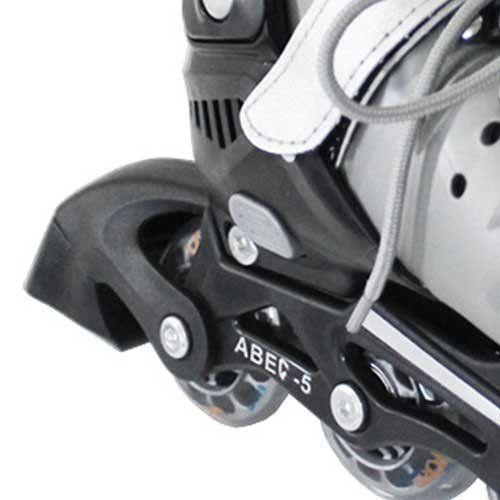 Patins In-line Roller Premium Ajustável Preto