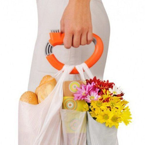 Pegador de sacolas e Bolsas Lev Fácil