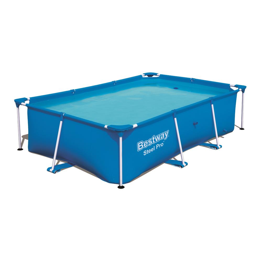 Piscina Estrutural 2.300 Litros Splash Junior Com Filtro e Capa Bestway