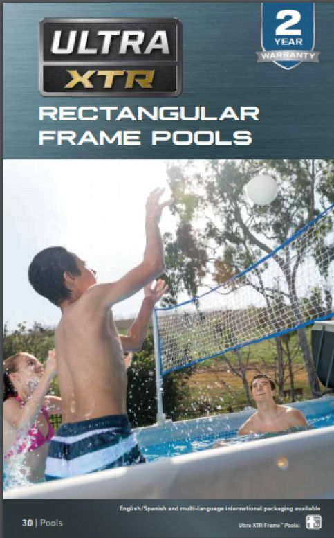 Piscina Estrutural Retangular 17.203 Litros Ultra XTR 110v Completa - Intex