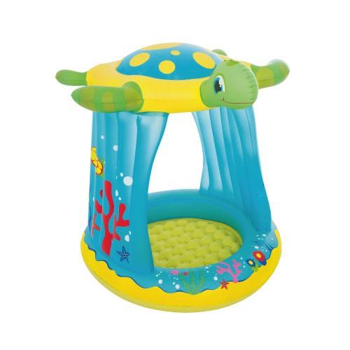 Piscina Infantil Tartaruga Cobertura 26 Litros - Bestway