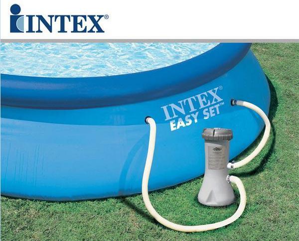 Piscina inflável 9.792 Litros + Bomba Filtrante -  Intex